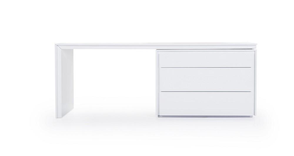 Modern office desk white White Gloss Trend Modern Office Desk Jm Furniture Jm Furnituremodern Furniture Wholesale u003e Modern Office u003e Trend