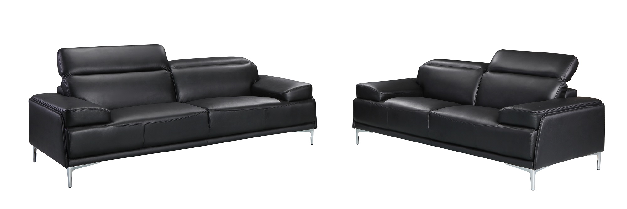 Wondrous Nicolo Black Sofa Set Forskolin Free Trial Chair Design Images Forskolin Free Trialorg