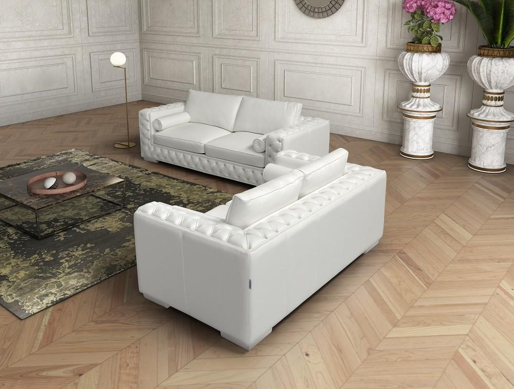 The Vanity Leather Sofa Set