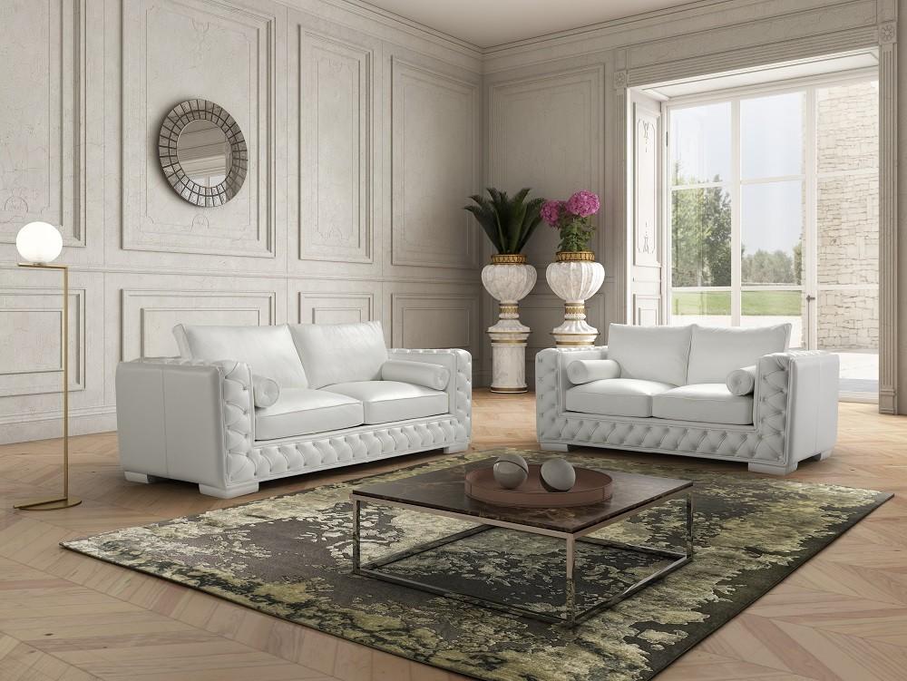 Ju0026M Furniture Modern Furniture Wholesale U003e U2022 Ital Mod U003e The Vanity Leather  Sofa Set
