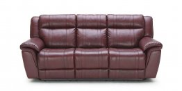 1975D Motion Leather Sofa, Love, and Chair