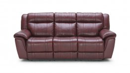 1975 Motion Leather Sofa, Love, and Chair