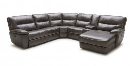 5067B-01 Motion Leather Sectional