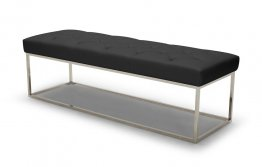 Chelsea Lux Bench In Black