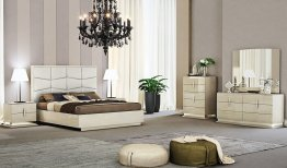 Chiara Modern Bedroom (king bed not available)