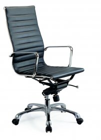 Comfy High Back Office Chair In Black