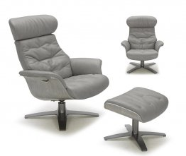 The Karma Lounge Chair in Grey