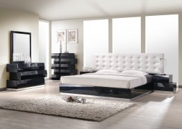 Milan Bedroom Set in Black
