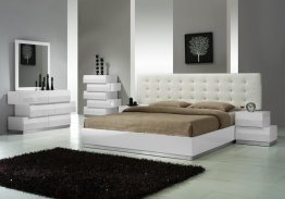 Milan Bedroom Set in White