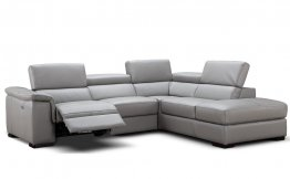 Perla Premium Leather Sectional