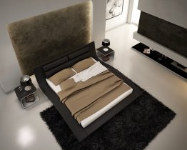 Wave Bed in Black