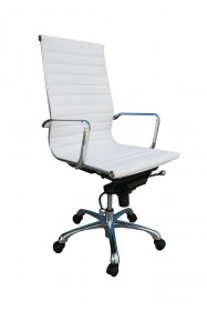 Comfy High Back Office Chair In White