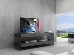 Grey Cloud Mini TV Base in High Gloss