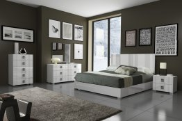 Mika Premium Bedroom (nightstands and dresser are not available)