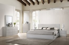 Naples Grey Bedroom Set