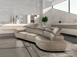 Marisol Premium Leather Sectional