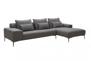 Christian Fabric Sectional by J&M