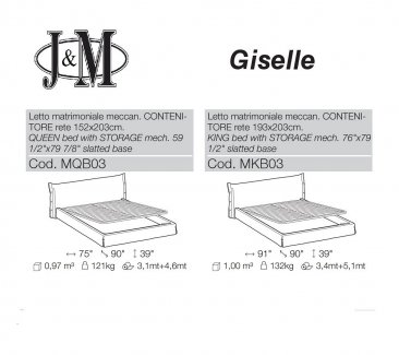 Giselle Storage Bed