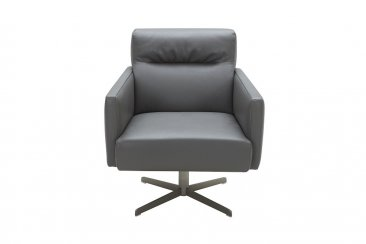 Jaeger Accent Chair in Grey