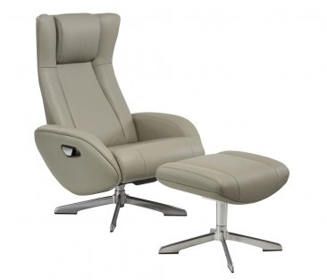 huge discount d5169 58617 Maya Chair and Ottoman in Grey