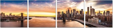 New York Sunset - SH-72098ABCD