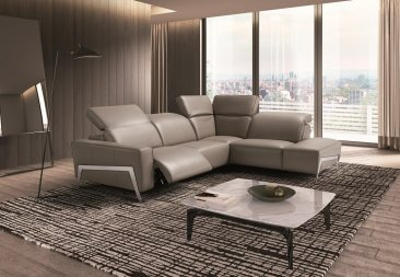 Ocean Grey Motion Sectional