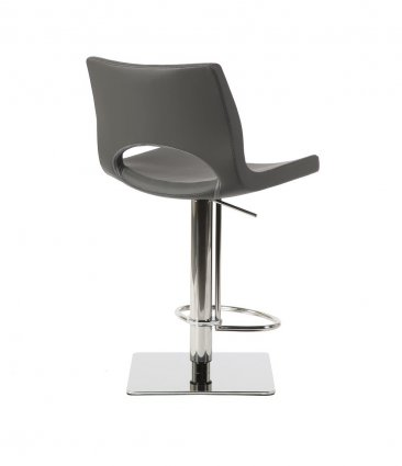 C203-3 Grey Swivel Barstool