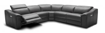 Nova Dark Grey 5pc Motion Sectional