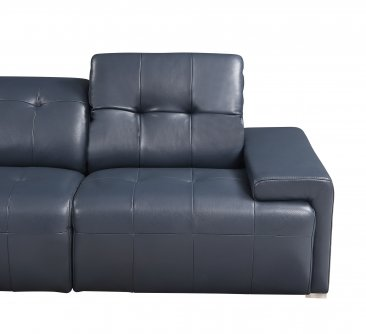 Davide Sectional in Blue