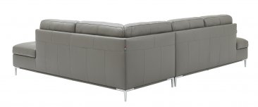 Leonardo Grey Sectional with Storage