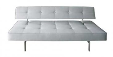 K18-A White Sofa Bed