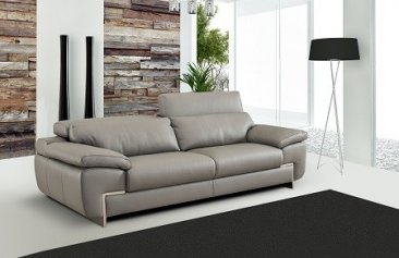 Oregon 2 Special Order Italian Leather Sofa Set