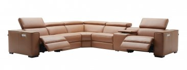 Picasso 6Pc Motion Sectional In Caramel