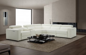 Picasso 6Pc Motion Sectional In White