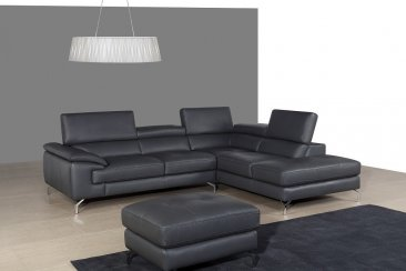A973 Premium Leather Sectional